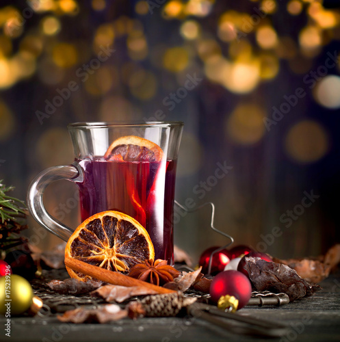 weihnachten mit gl hwein stock photo and royalty free. Black Bedroom Furniture Sets. Home Design Ideas