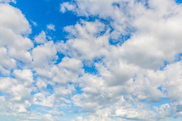 青空と綿雲