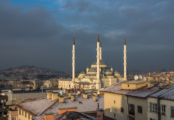 Kocatepe Mosque in Ankara,Turkey