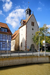 St. Georgs Kirche in Bad Salzdetfurth an der Lamme