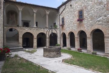 San Giovanni Battista church at Carpegna (Marches, Italy)
