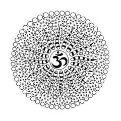 Mandala. Sign of the sun