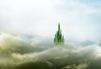 emerald city 3 with rainbow