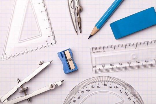 Mathematical accessories.