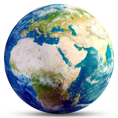 Wall Mural - Planet Earth globe 3d rendering