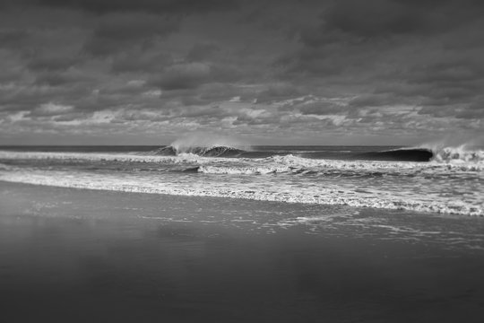 Winter waves in the Northeast.