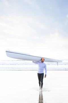 Surf Ski Paddler.