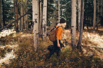 Wandering.