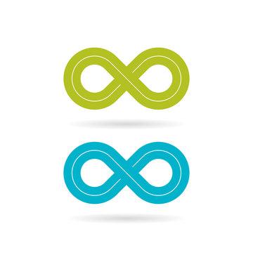 Loop infinity vector symbol
