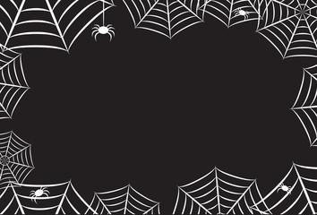 Spider Web Reverse Frame Border Background 1