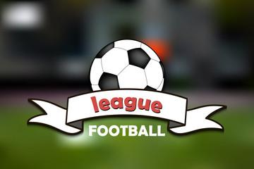 Logo football league