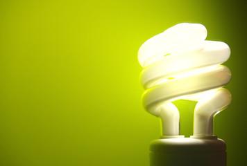 Green Light Bulb Energy