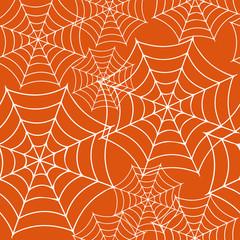 背景素材:蜘蛛の巣| Halloween pattern