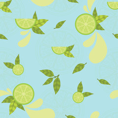 Citrus Splash, Lime Slice