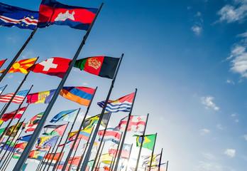 Staatsflaggen,  Fahnen