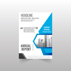 Brochure design template vector.Flyers annual report. Leaflet cover presentation. Layout . illustration.