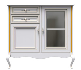 White classic sideboard