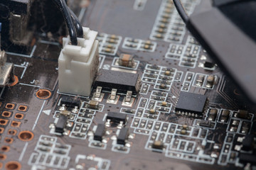 Print Circuit Board of graphic card