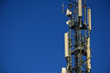 Antenna mast, (Telekommunikation)