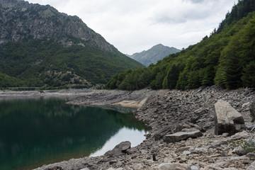 lake in catalan pyrenees