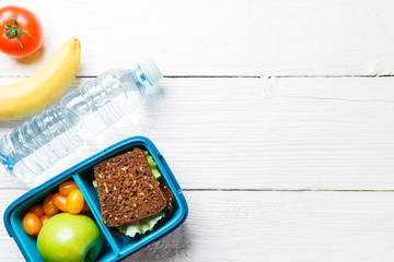 Image of sports useful snack in container