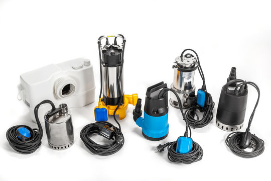 A submersible pump for dirty water