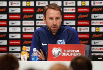 2018 World Cup Qualifications - Europe - England Press Conference
