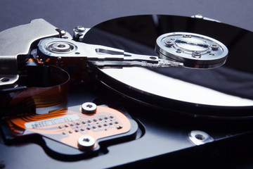 Data encryption on the hard disk. Protection of personal information on the Internet.