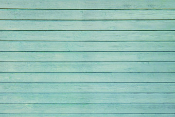 Turquoise wooden surface