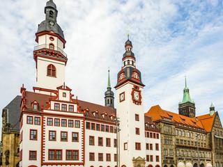 Town Hall of Chemnitz in Saxony
