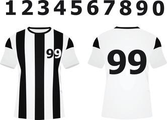 Soccer jersey. vector illustration
