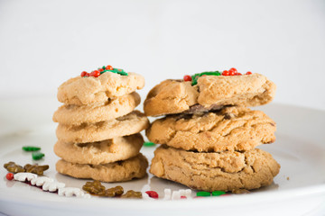 Stack of Cookies for Christmas