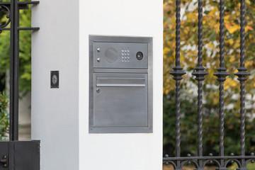 Zugangskontrolle mit Briefkasten