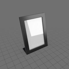 Tall desktop picture frame