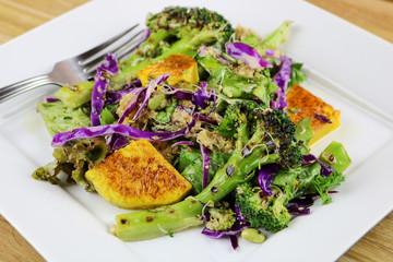 Super food Quinoa Salad with Butternut Squash and Broccoli