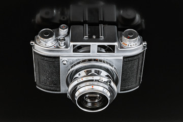 Kleinbildkamera der 70er Jahre mit Photozelle