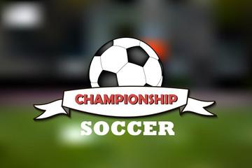 Logo soccer championship