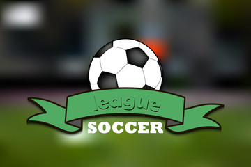 Logo soccer league