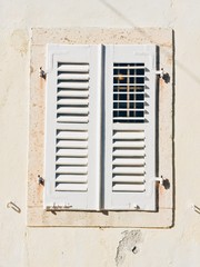 Closed window on the sun.