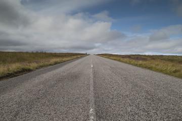 empty highlands road
