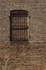 Brick window and wall