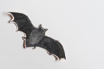 Halloween bat copyspace