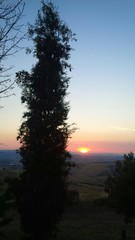 tramonto toscano