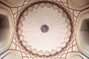 Main dome ceiling of Ranakpur Jain temple, Rajasthan, India