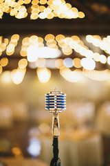 Microphone with Lights