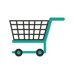 shopping cart icon image vector illustrationd design