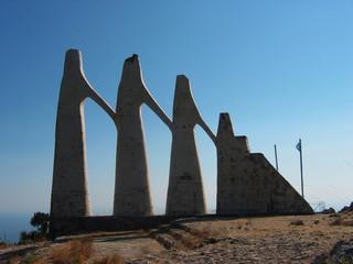 Monument of Zalongo Preveza Greece