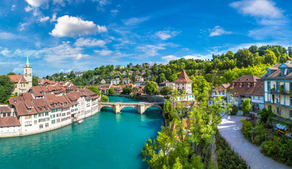 Fotomurales - Panoramic view of Bern