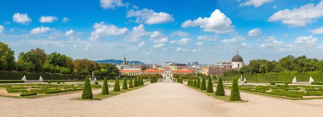 Wall Mural - Belvedere garden in Vienna, Austria