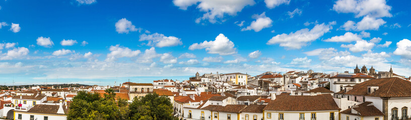 Wall Mural - Cityscape of Evora, Portugal